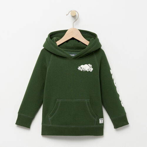 Roots-Kids Sweatshirts & Hoodies-Toddler Roots Remix Hoody-Camp Green-A