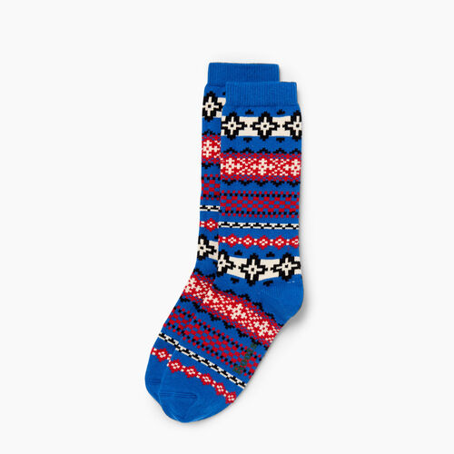 Roots-Winter Sale 40-50% Off - View All-Chalet Sock-Princess Blue-A