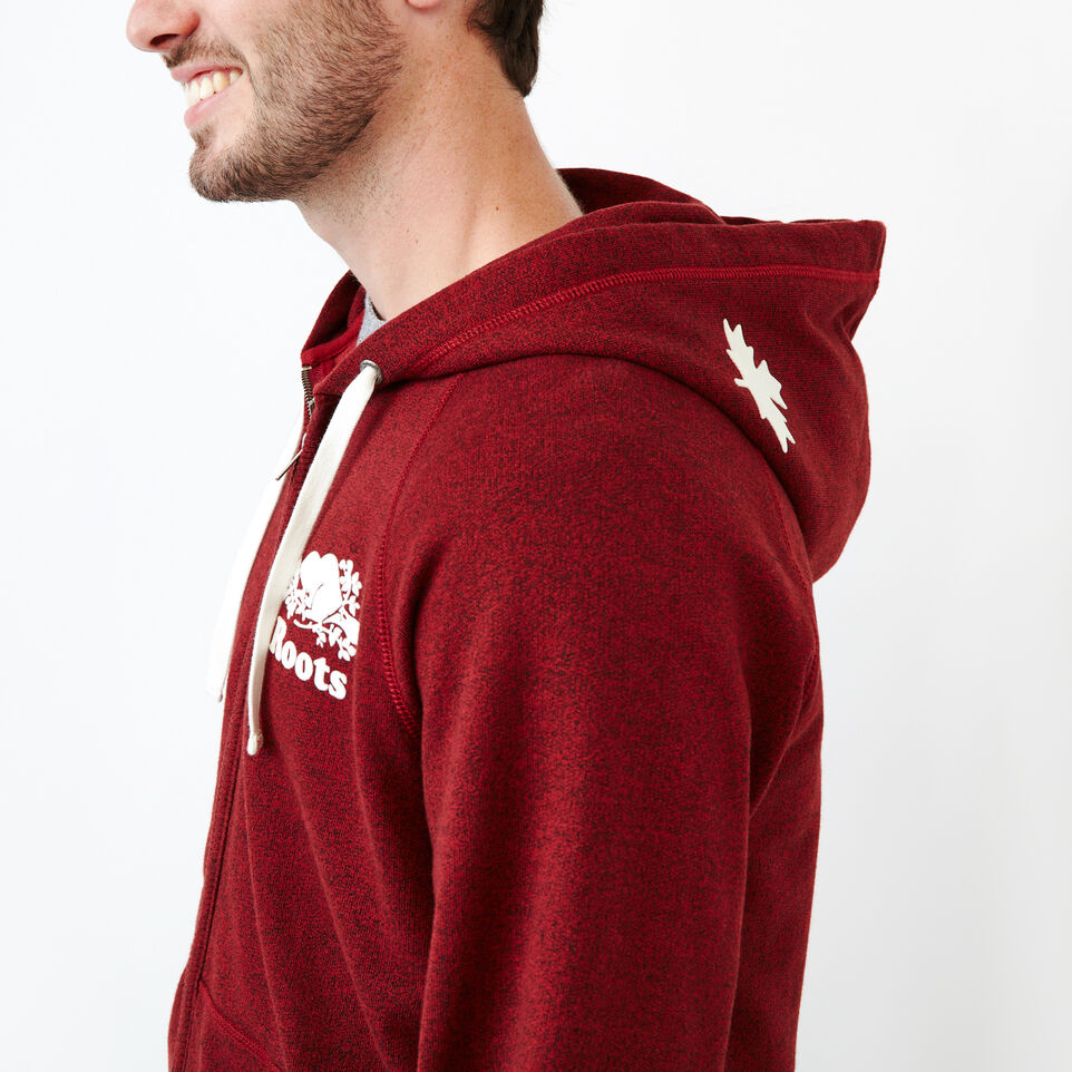 Roots-Men Our Favourite New Arrivals-Original Full Zip Hoody-Sundried Tomato Ppr-E