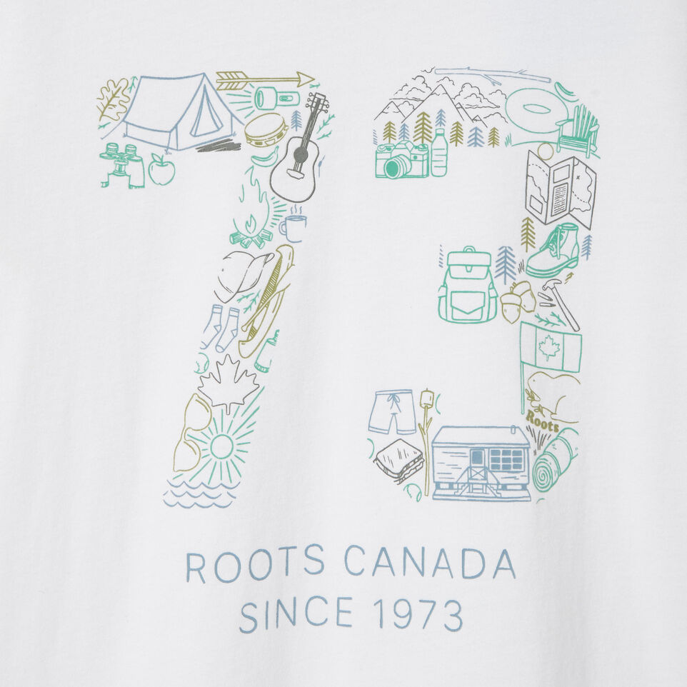 Roots-undefined-Boys Roots Paddle T-shirt-undefined-D