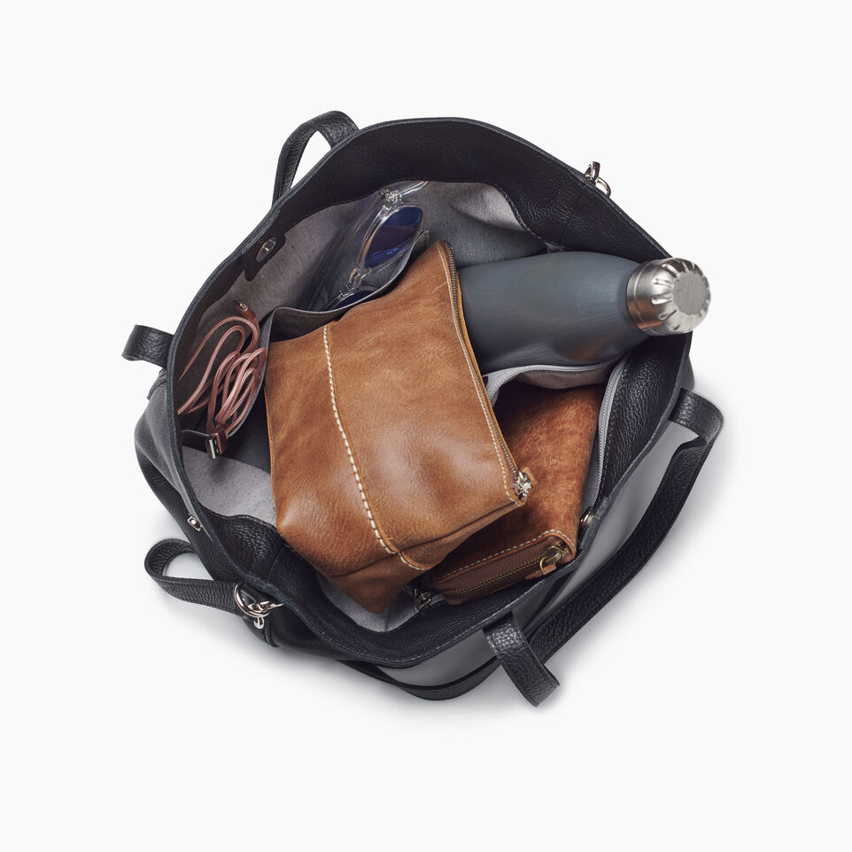 Roots-Leather New Arrivals-Amelia Tote Prince-Black-D