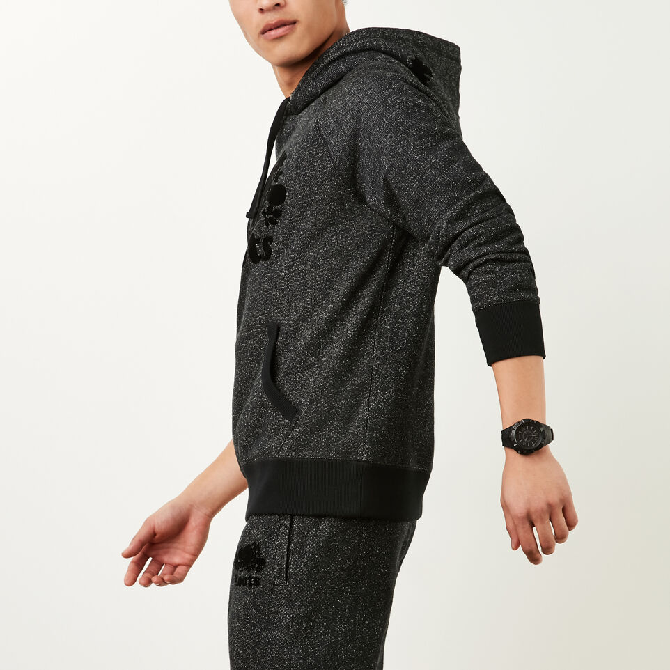 Roots-undefined-Roots Black Pepper Original Kanga Hoody-undefined-B