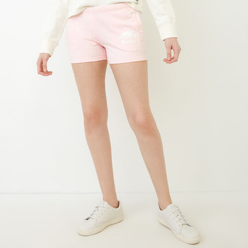 Roots-Women Shorts & Skirts-Original Sweatshort-Cradle Pink Pepper-A