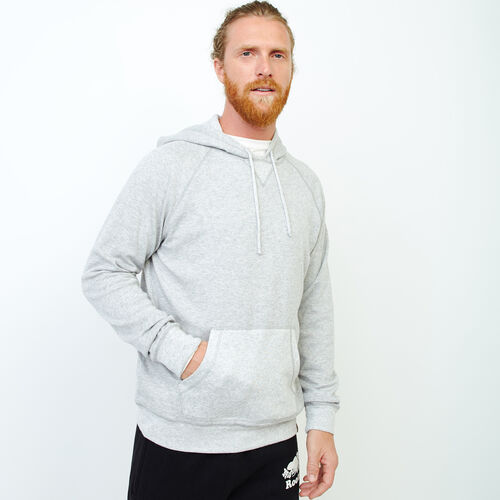 Roots-Men Our Favourite New Arrivals-Cozy Thermal Hoody-Grey Mix Pepper-A