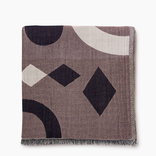 Roots-Women Accessories-Parkborough Scarf-Navy-A
