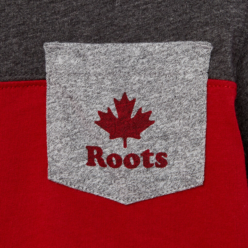 Roots-undefined-Toddler Colourblock Pocket T-Shirt-undefined-D