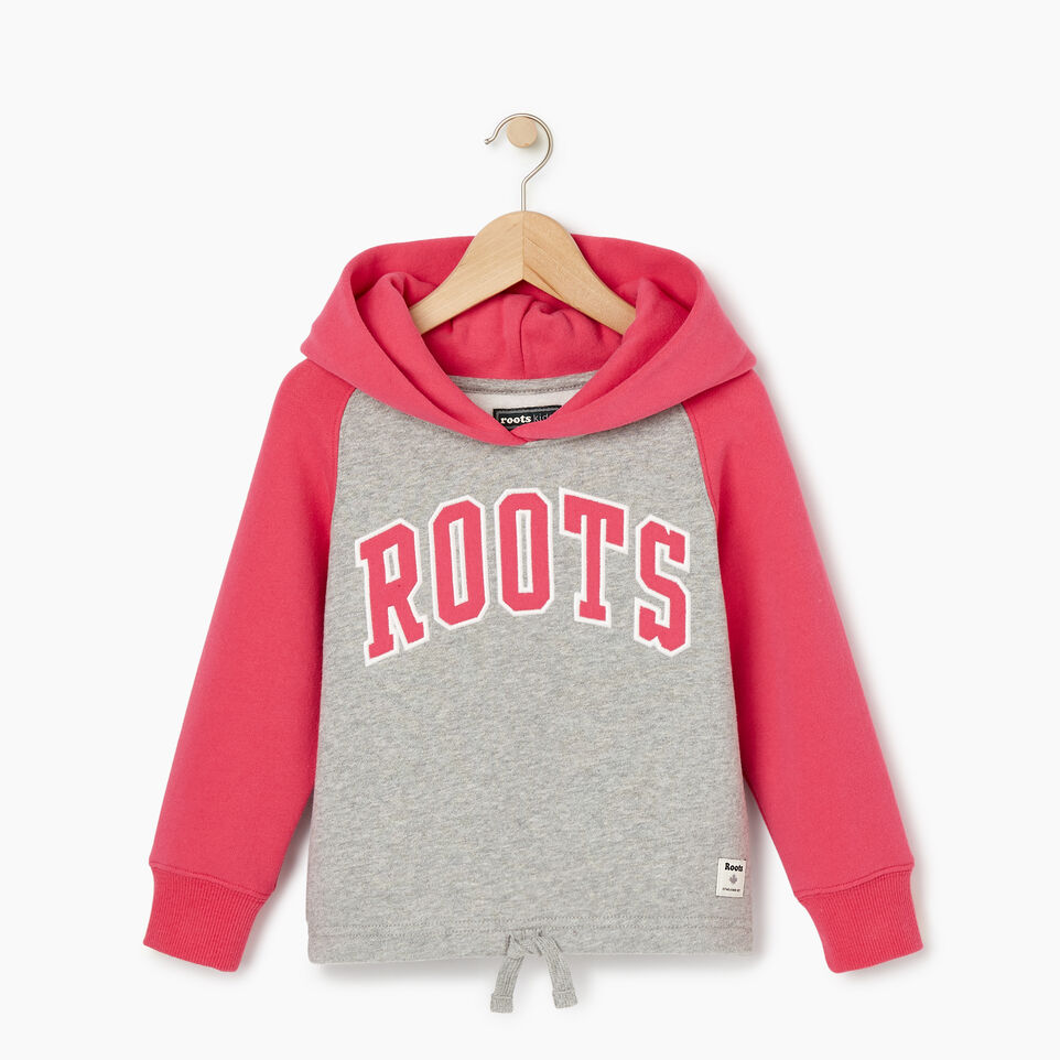 Roots-Kids Our Favourite New Arrivals-Toddler 2.0 Colourblock Raglan Hoody-Grey Mix-A