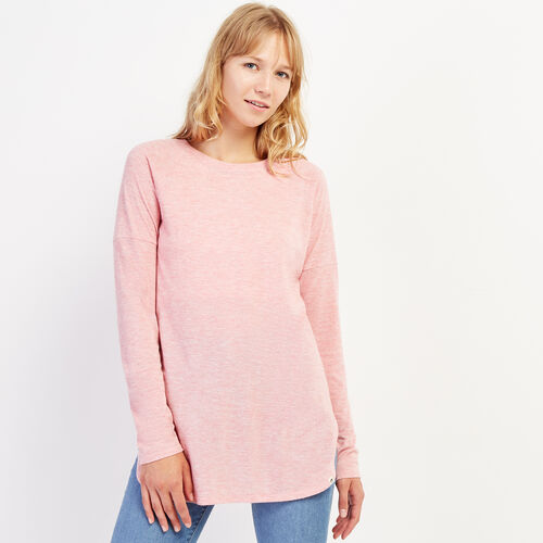 Roots-Women Clothing-Julie Top-Dusty Rose Mix-A