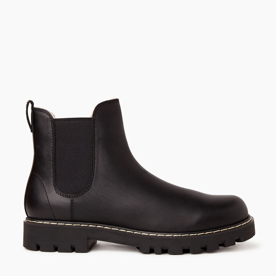 Roots-Footwear Men-Mens Tobermory Chelsea Boot-Black-A
