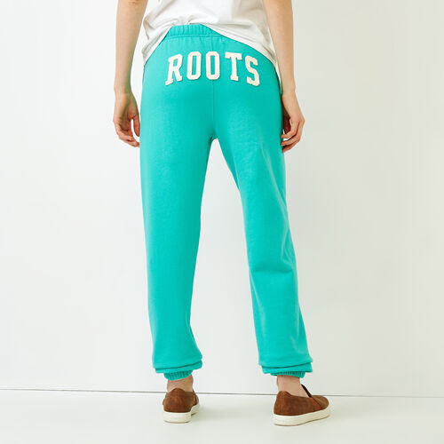 Roots-Women Sweatpants-Original Boyfriend Sweatpant-Atlantis-A