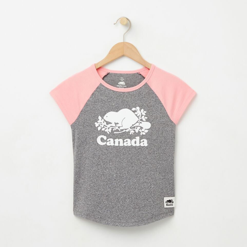 Roots-undefined-Girls Cooper Canada Raglan Top-undefined-A