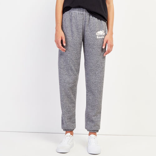 Roots-Women Sweatpants-Roots Salt and Pepper Original Sweatpant - Short-Salt & Pepper-A