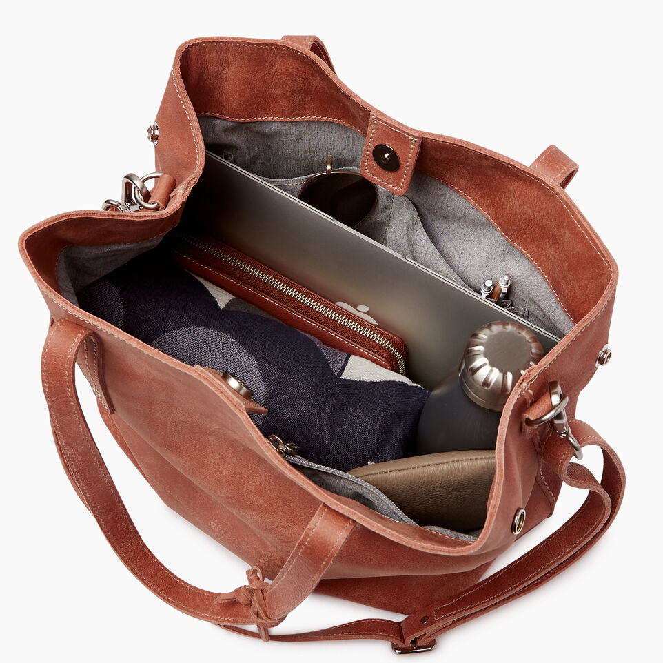 Roots-Leather Our Favourite New Arrivals-Amelia Tote-Canyon Rose-D