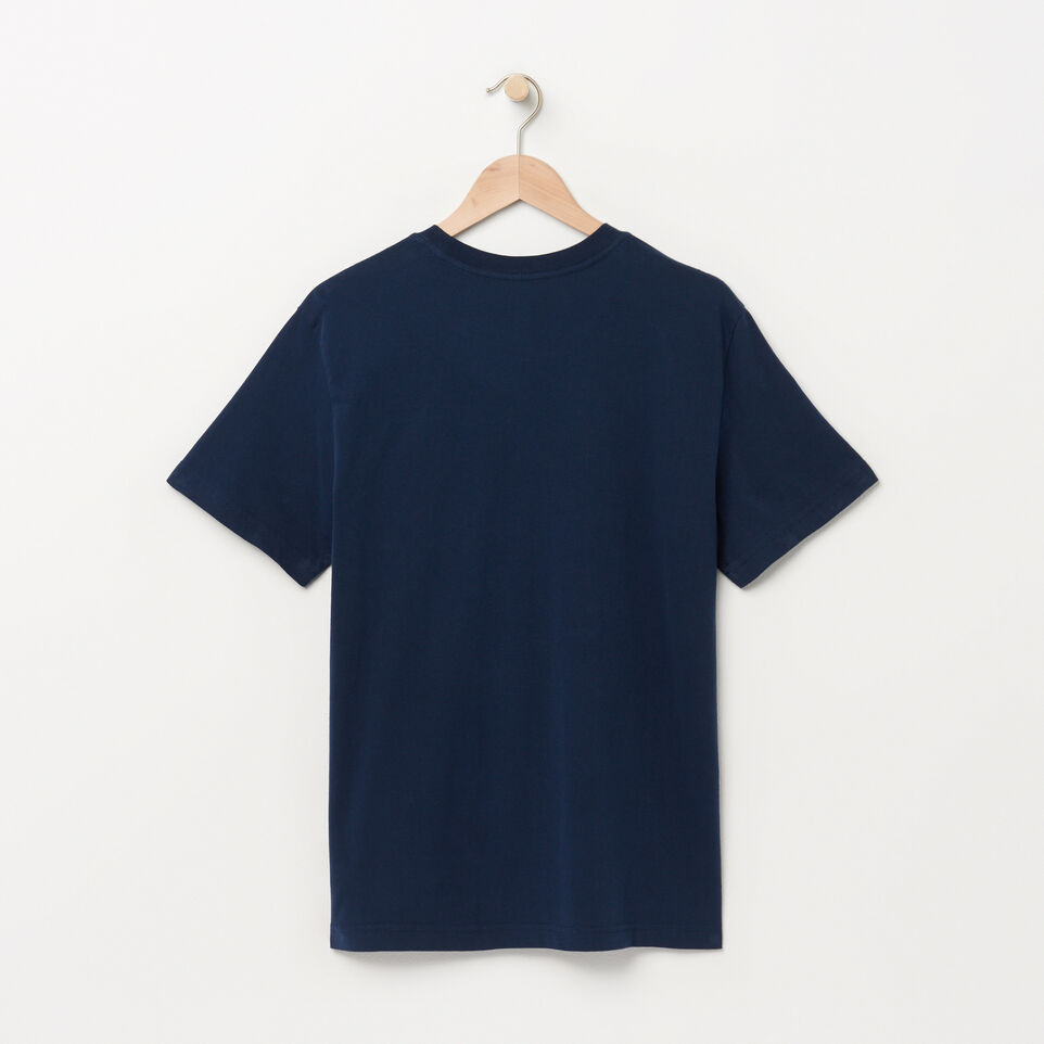 Roots-undefined-Mens Roots Script T-shirt-undefined-B