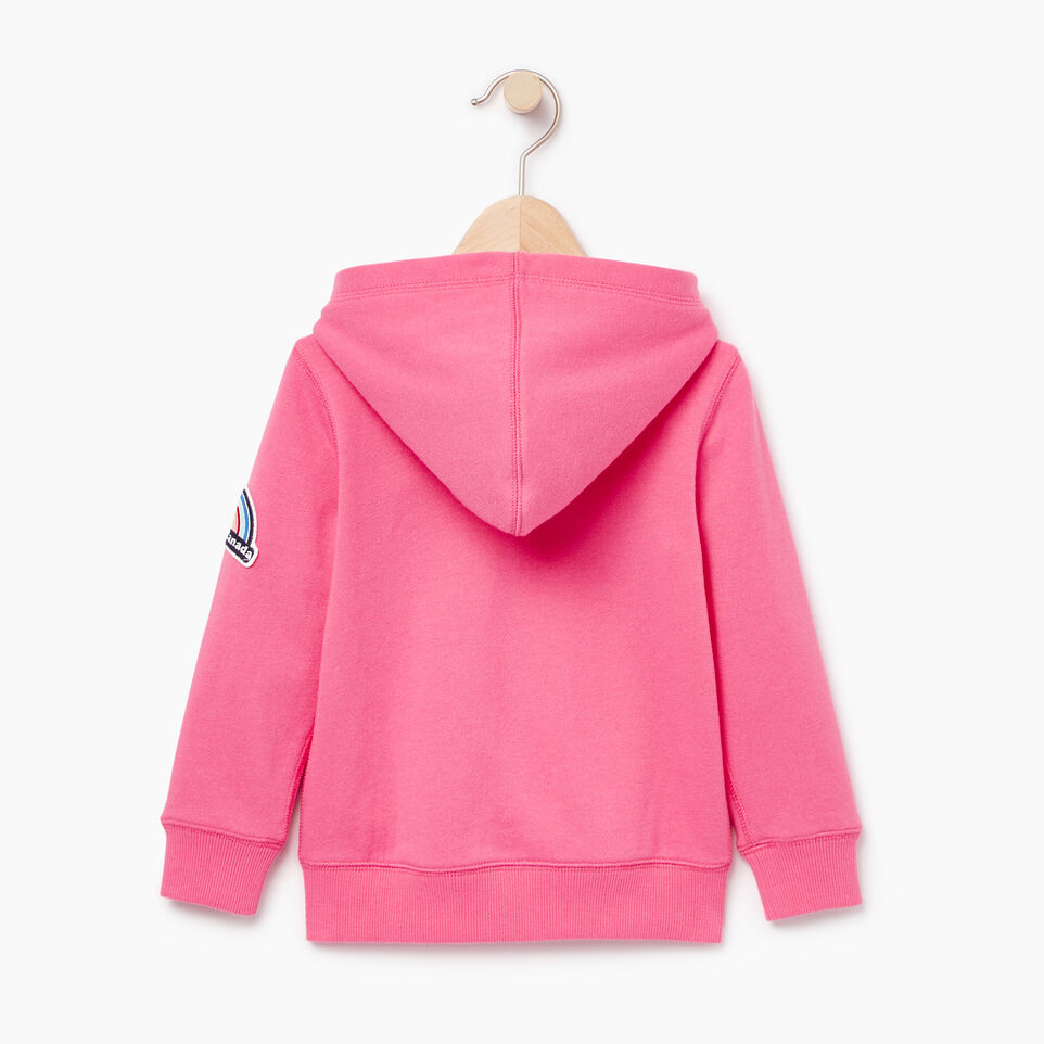 Roots-Kids Our Favourite New Arrivals-Toddler Patches Full Zip Hoody-Azalea Pink-B