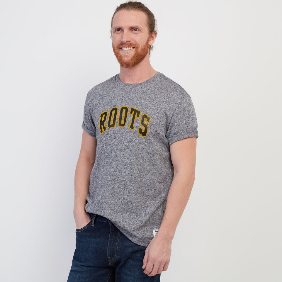 Roots-undefined-Mens Arch T-shirt-undefined-B