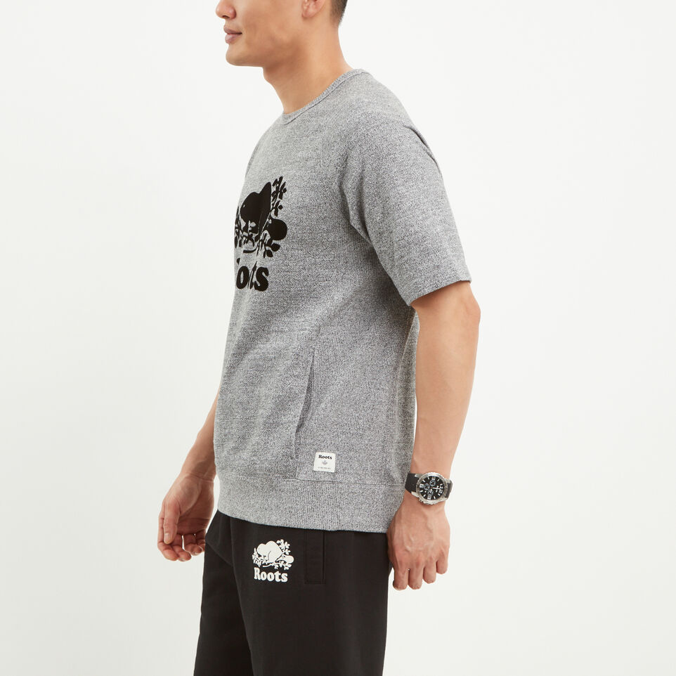 Roots-undefined-Roots Salt and Pepper Short Sleeve Crew-undefined-B
