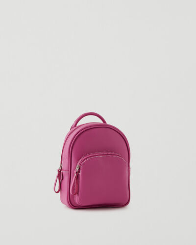 Roots-Leather Backpacks-Mini Chelsea Pack Cervino-Pink Orchid-A
