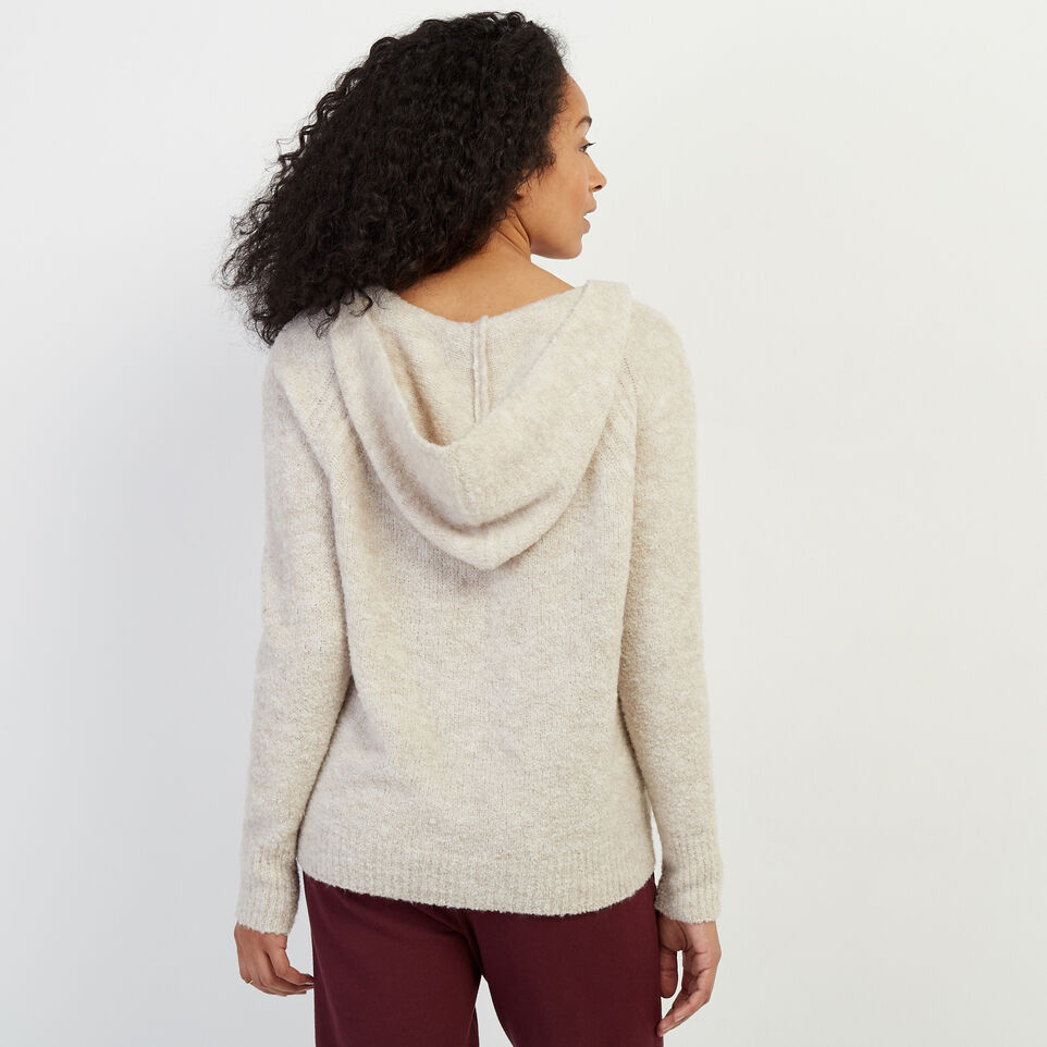 Roots-Women Sweaters & Cardigans-Beach Comber Sweater Hoody-Wind Chime Mix-D