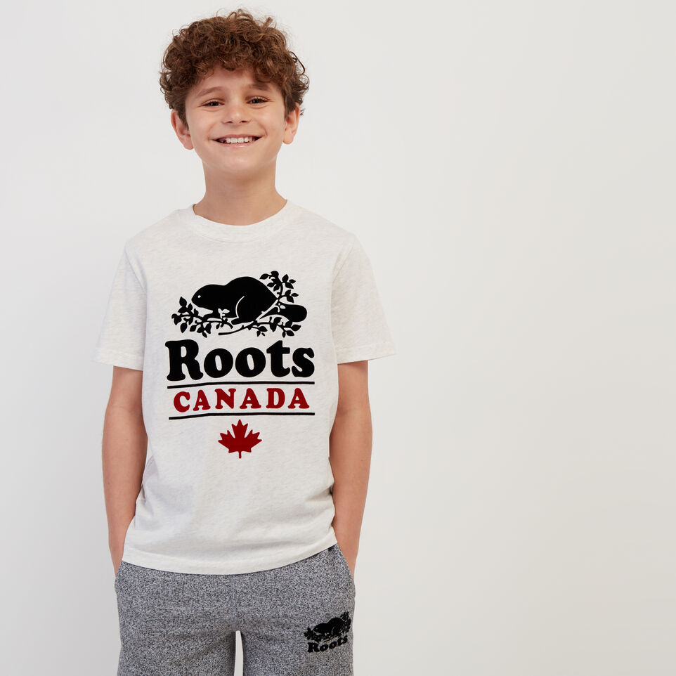 Roots-undefined-Boys Roots Canada T-shirt-undefined-A