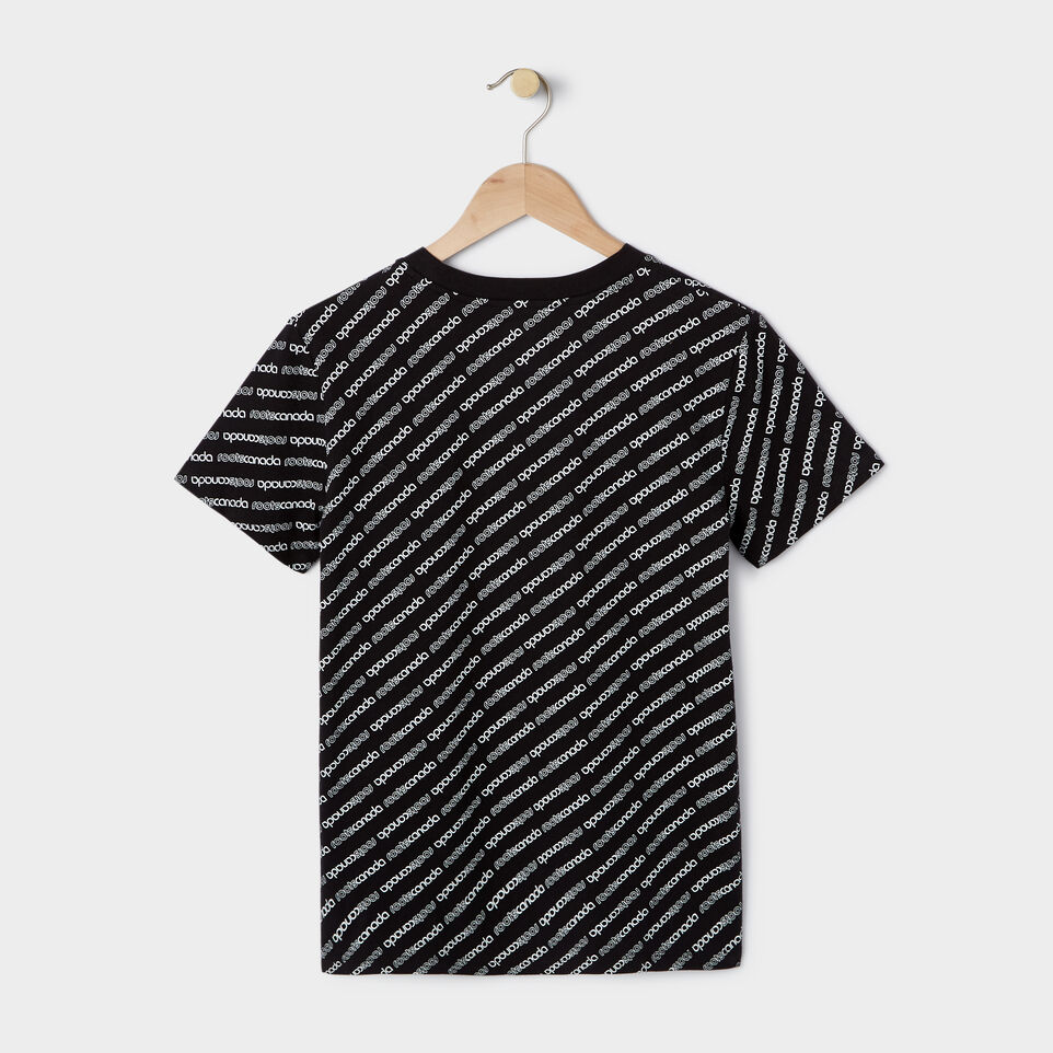 Roots-New For July Daily Offer-Womens Peleton T-shirt-Black-B