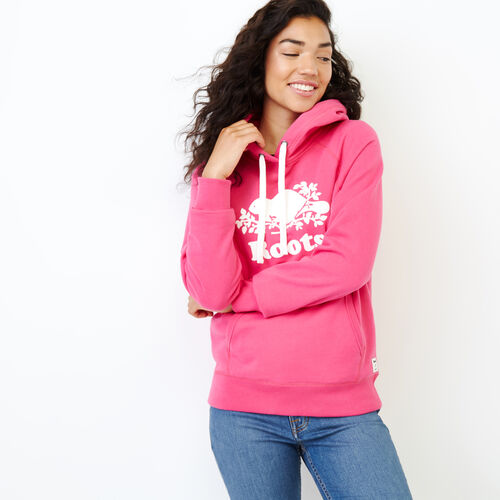 Roots-Women Our Favourite New Arrivals-Original Kanga Hoody-Fuchsia Purple-A