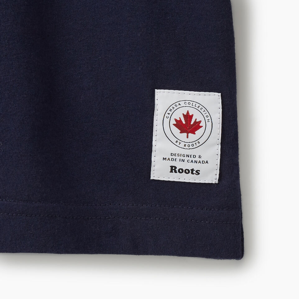 Roots-New For July Men-Cooper Canada Long Sleeve T-shirt-Navy Blazer-D