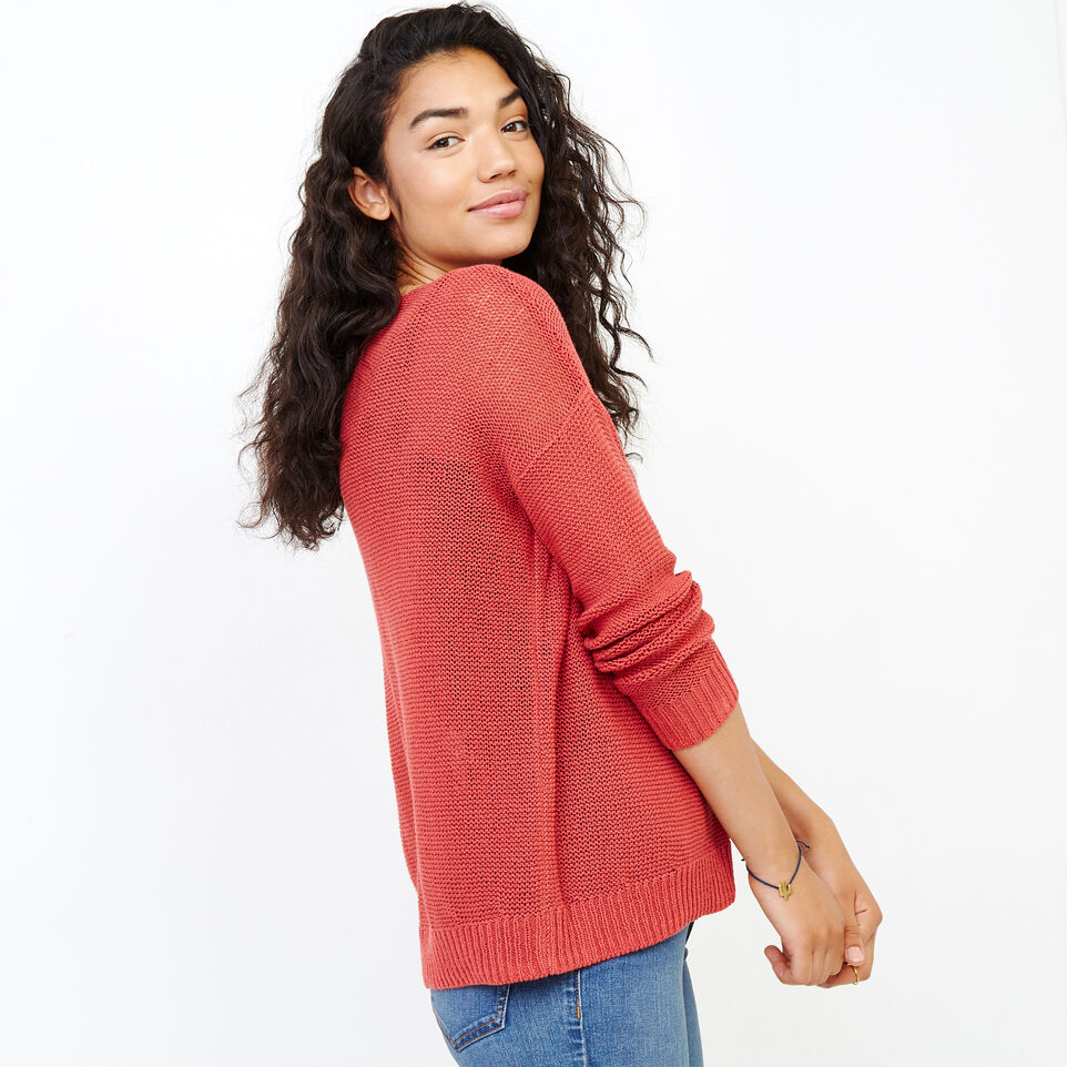 Roots-Women Our Favourite New Arrivals-Hillsview Pullover Sweater-Baked Apple-C