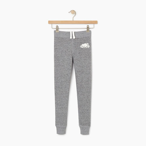 Roots-Kids Our Favourite New Arrivals-Girls Cozy Fleece Sweatpant-Salt & Pepper-A