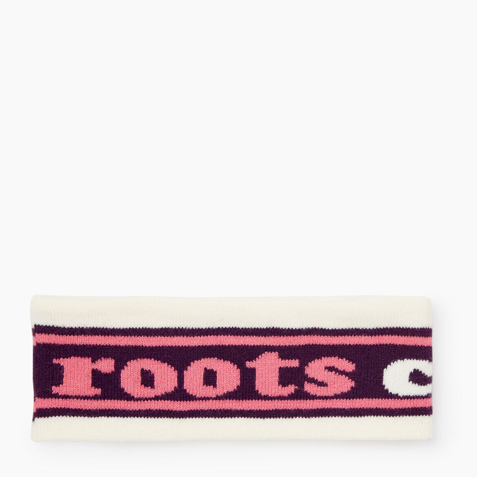 Roots-Winter Sale Kids-Kids Roots Ski Band-Purple Pennant-A