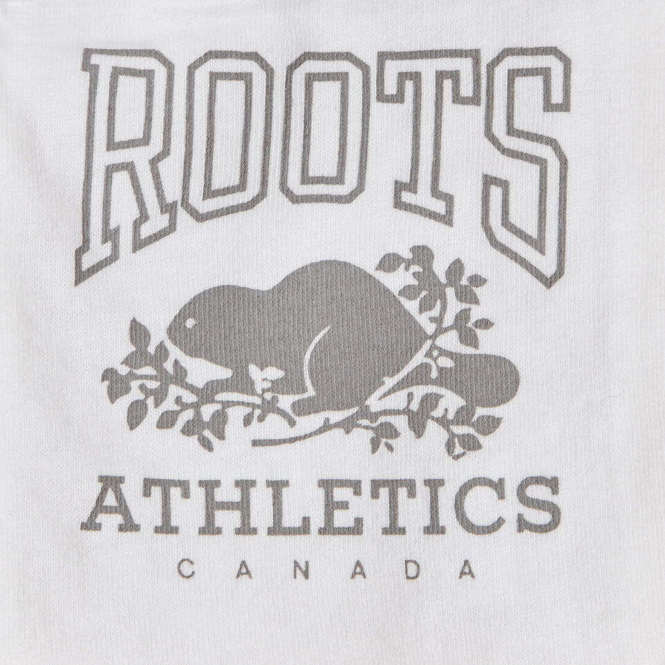 Roots-Kids Canada Collection-Girls Canada Short-Sage Red-E