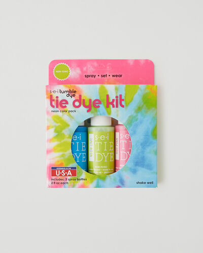 Roots-New For This Month Diy Collection-Neon Tie Dye Kit 3 Pack-Multi-A