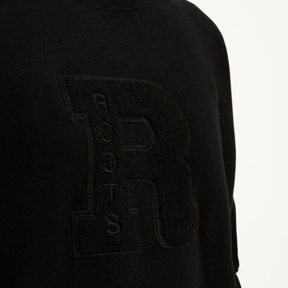 Roots-undefined-Varsity Big Monogram Crew Sweatshirt-undefined-E