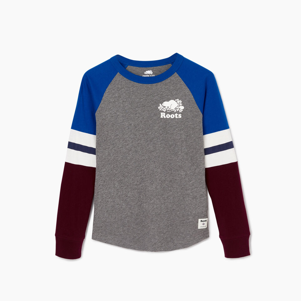 Roots-undefined-Boys Cooper Beaver Raglan T-shirt-undefined-B