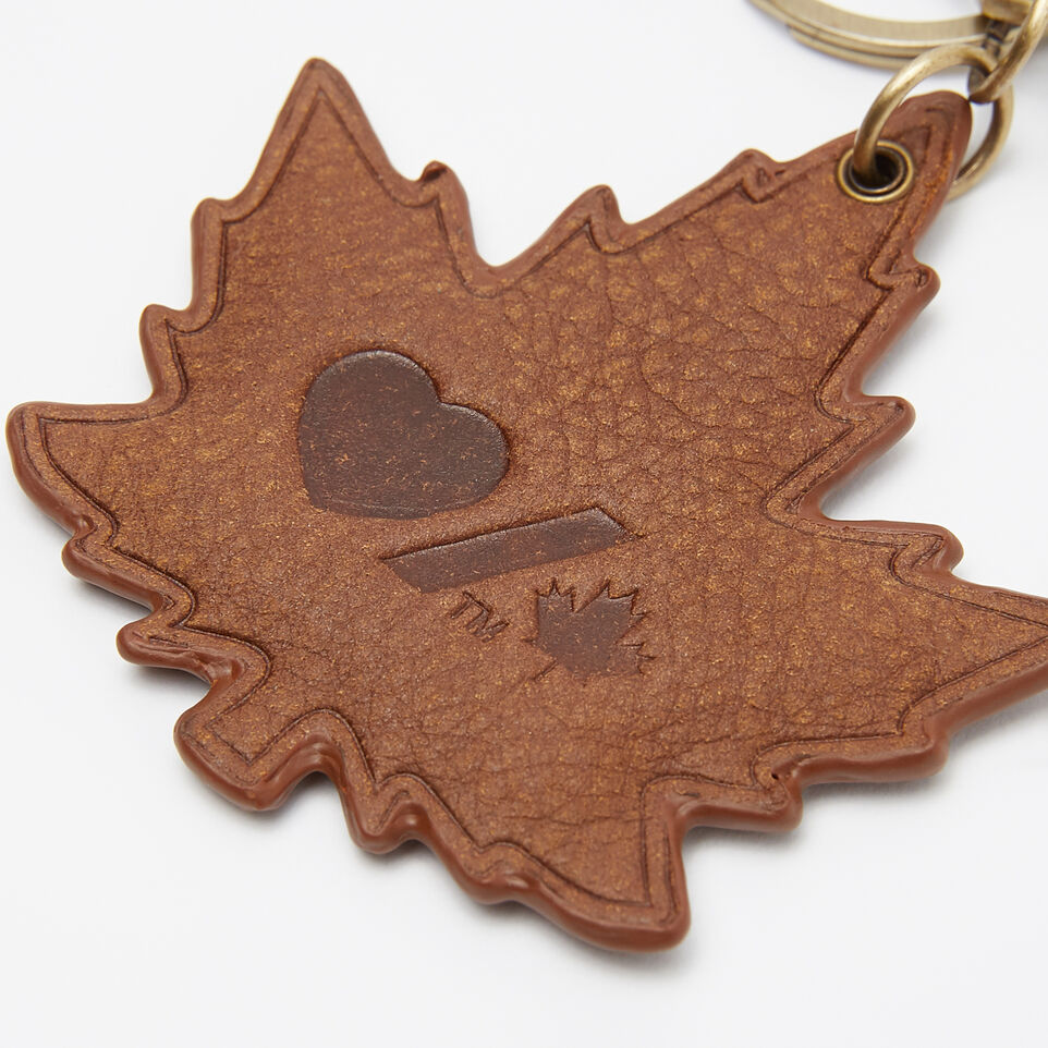 Roots-undefined-Heart & Stroke Maple Keychain Tribe-undefined-C