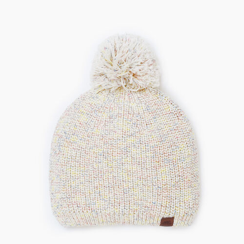 Roots-Gifts Accessory Sets-Snowy Fox Pom Pom Toque-Multi-A