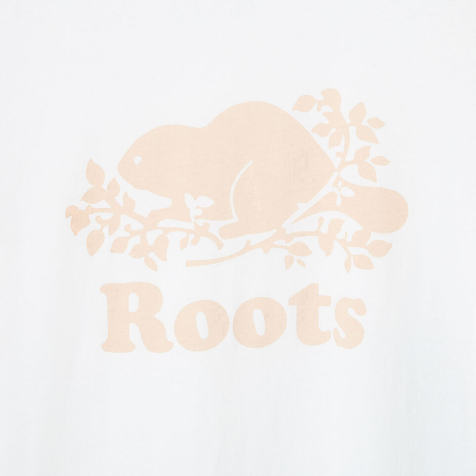 Roots-Women Our Favourite New Arrivals-Womens Cooper Beaver T-shirt-Cloudy White-D