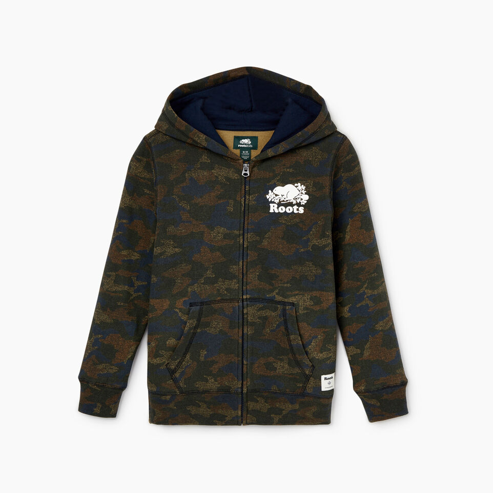 Roots-undefined-Boys Original Full Zip Hoody-undefined-B