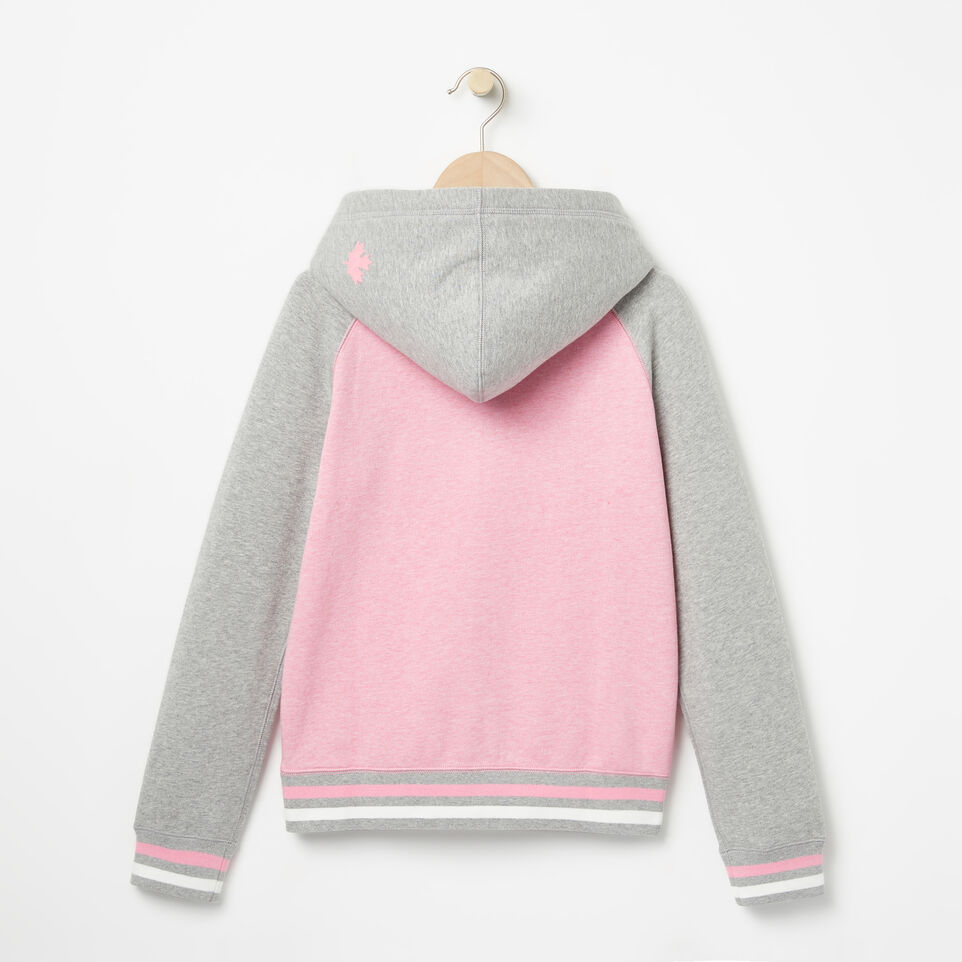 Roots-undefined-Girls RBC Varsity Full Zip Hoody-undefined-B