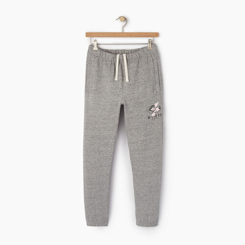 Roots-New For December Roots X Shawn Mendes: Limited-edition Capsule Collection-Roots X Shawn Mendes Sweatpant-Grey Pepper Mix-A