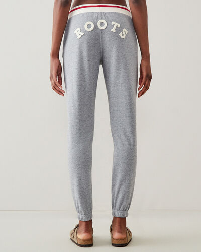 Roots-Sweats Sweatsuit Sets-Cabin Slim Cuff Sweatpant-Light Salt & Pepper-A