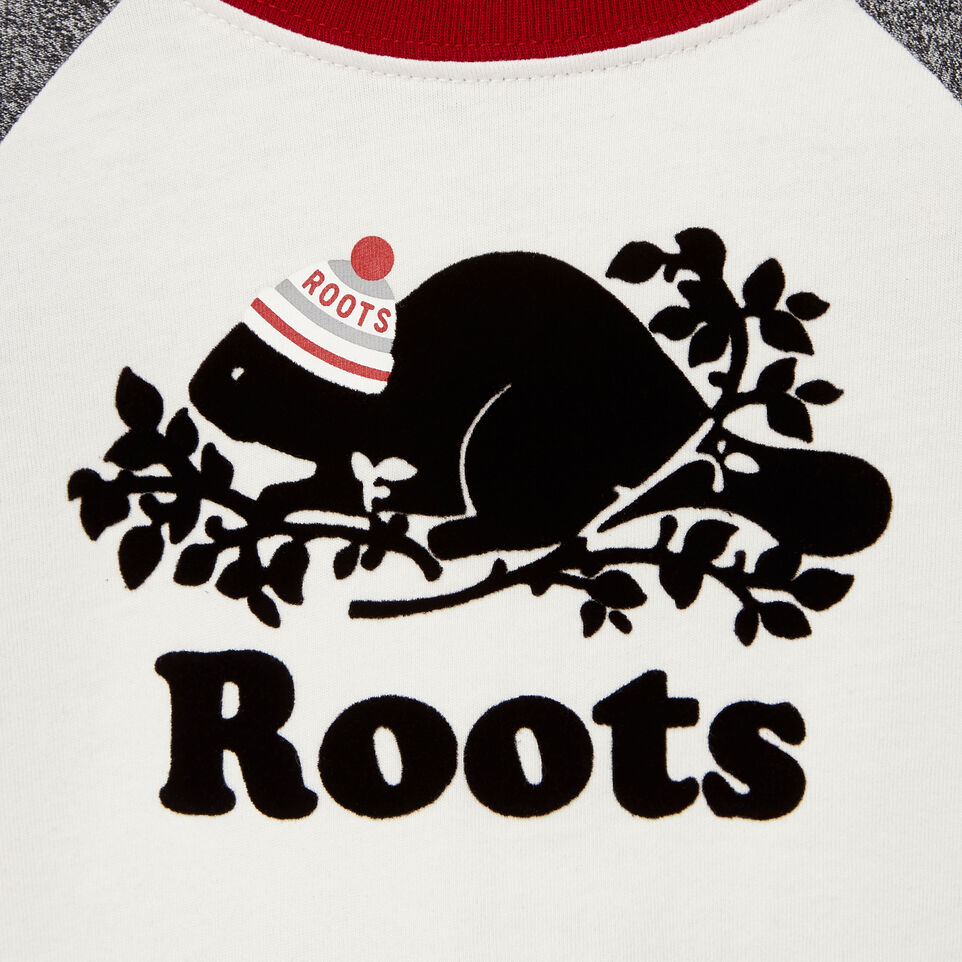 Roots-undefined-Baby Buddy Raglan T-shirt-undefined-D