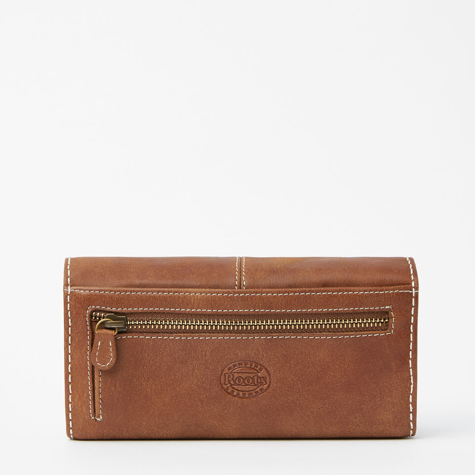 Roots-undefined-Large Chequebook Clutch Tribe-undefined-C