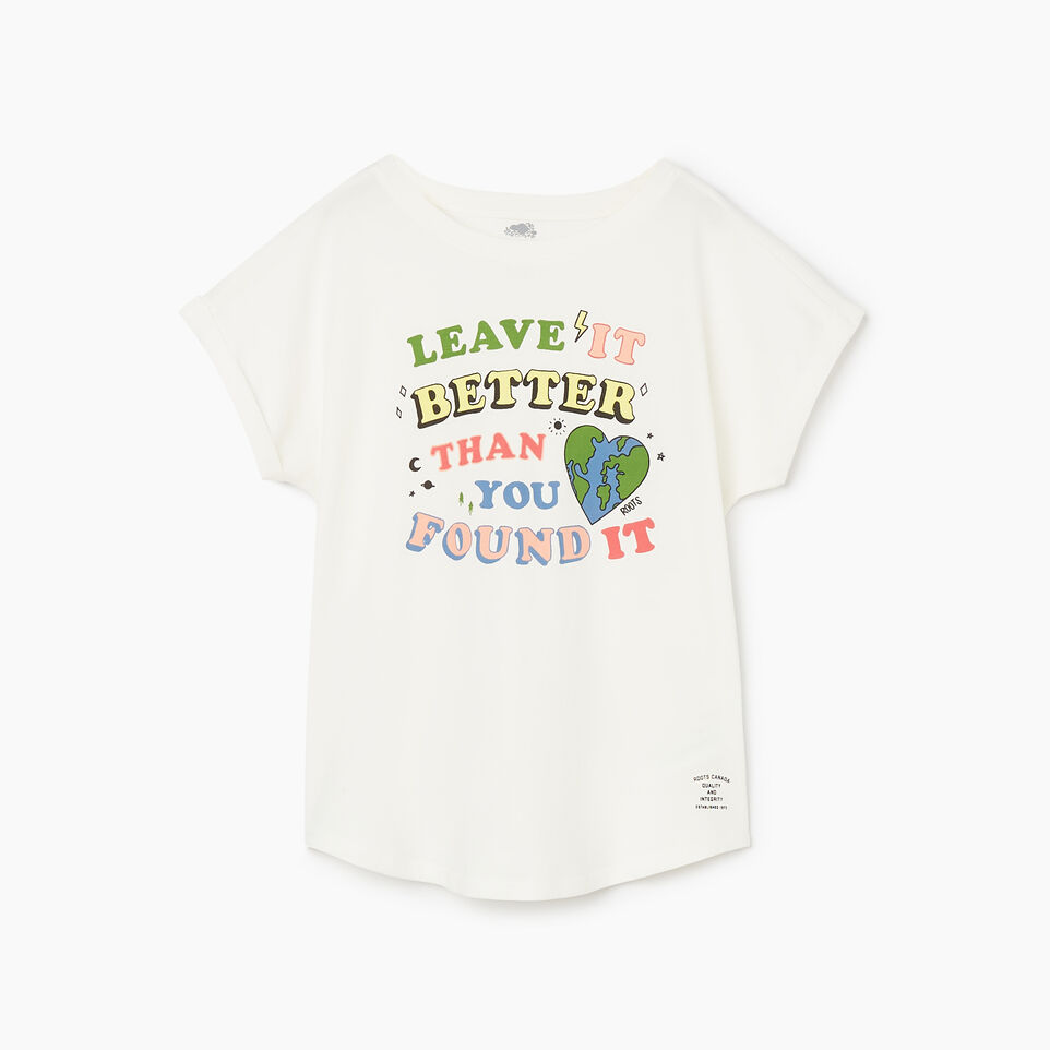 Roots-undefined-Girls Roots Earth T-shirt-undefined-B