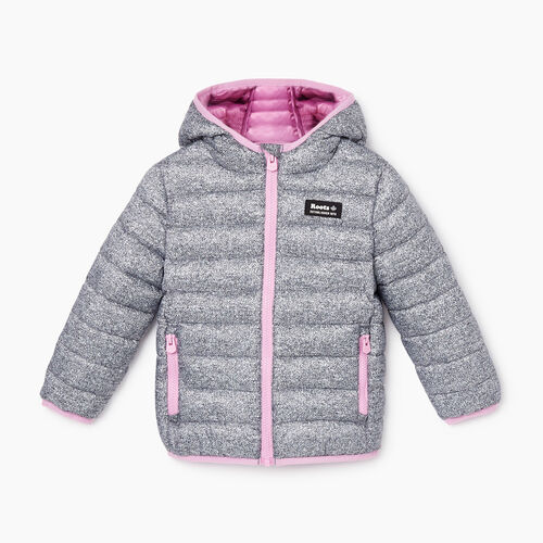 Roots-Kids Jackets-Toddler Roots Puffer Jacket-Salt & Pepper-A