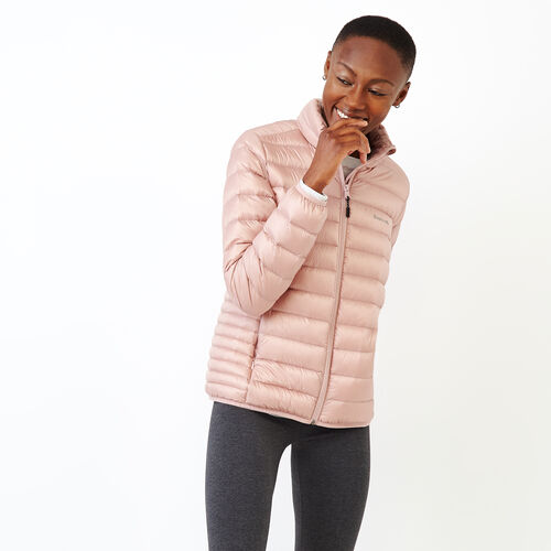 Roots-New For October Packable Jackets-Roots Slim Packable Jacket-Pink-A