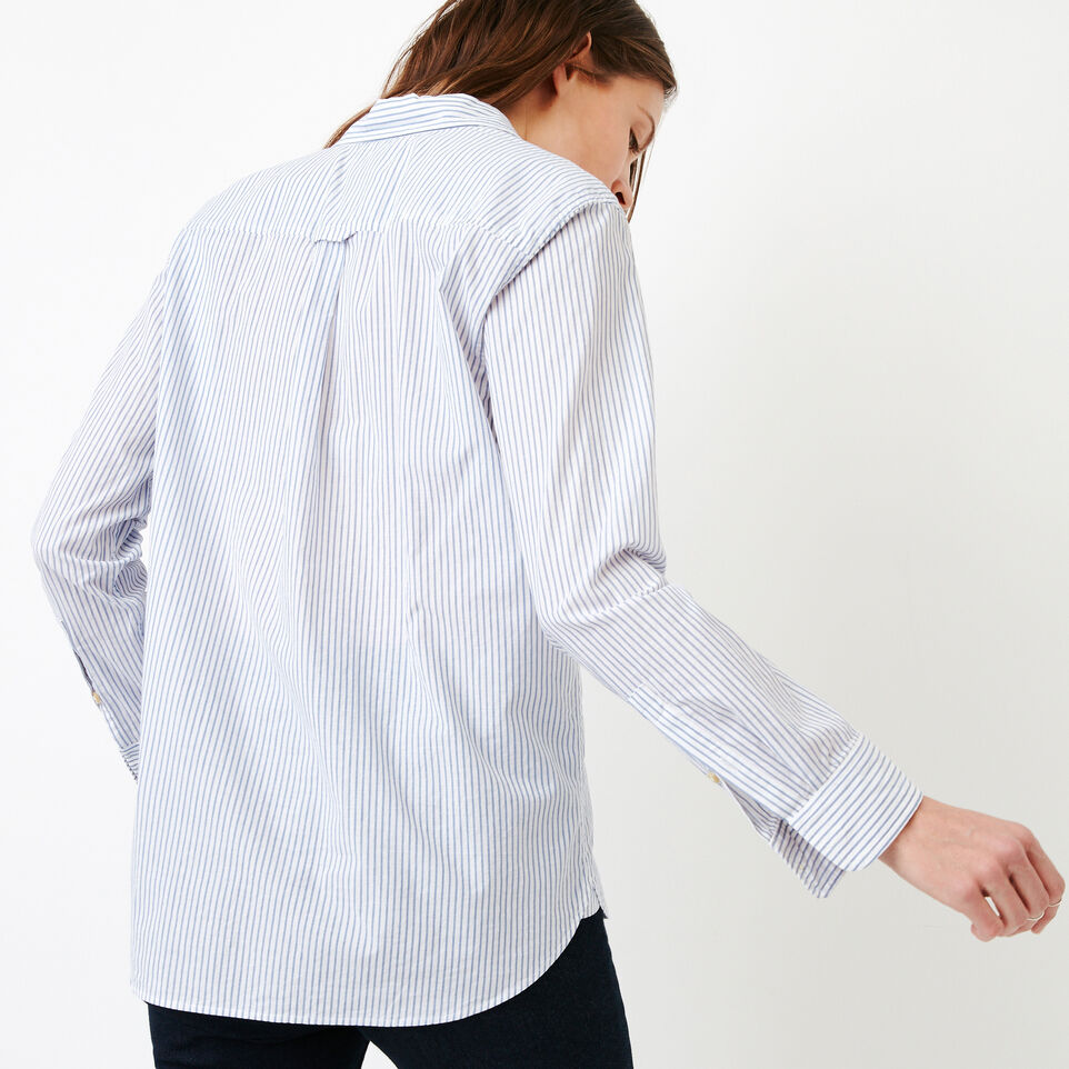 Roots-undefined-Relaxed Striped Shirt-undefined-D