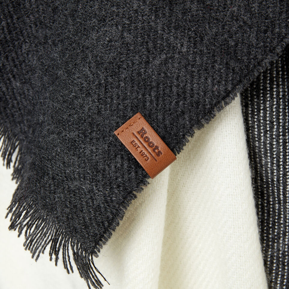 Roots-Sale Women-Arnaud Scarf-Charcoal Mix-D