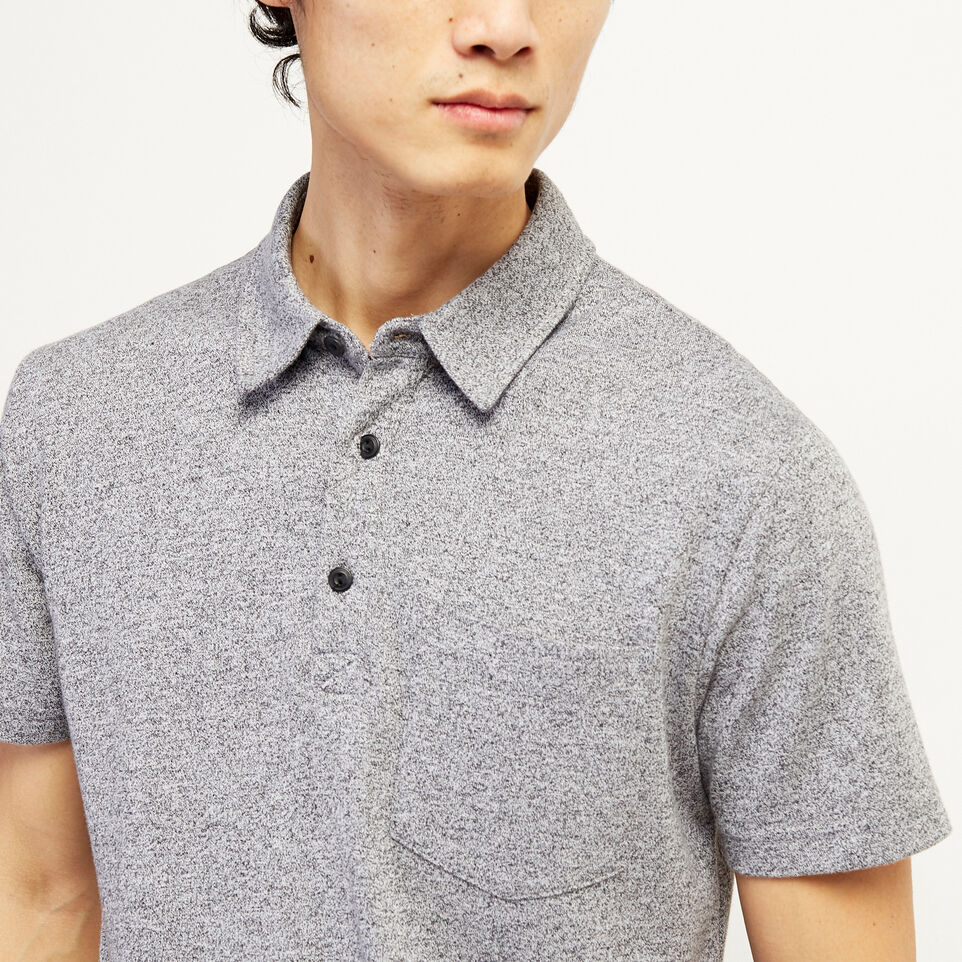 Roots-undefined-Jersey Peppered Polo-undefined-E