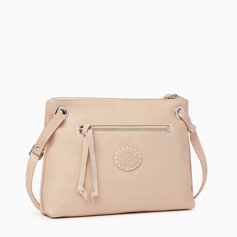 Roots-Leather  Handcrafted By Us Our Favourite New Arrivals-Edie Bag-Pink Mist-C